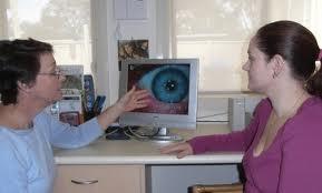 examinare iridologica