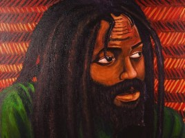 """Mumia"" by Malik Seneferu, renowned artist and teacher based in Hunters Point, San Francisco"
