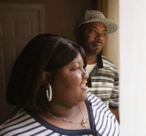 """Interviewed last December by the Associated Press about the racial tension in Antioch toward Section 8 tenants renting upscale suburban homes, Karen and Thomas Coleman say they simply want a good place to raise their three children. But after five years in Antioch, the Colemans still feel that """"they don't want us here."""" – Photo: AP"""