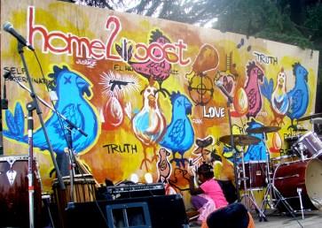 Eesuu's Malcolm X Jazz Festival mural