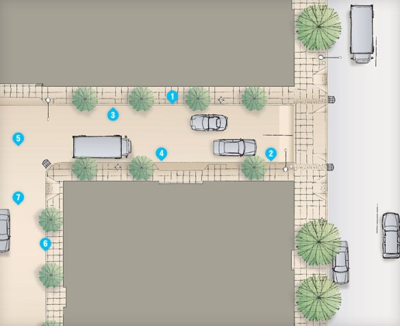 Typical Alley Plan