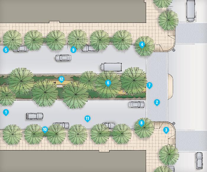 Typical Parkways Street Plan