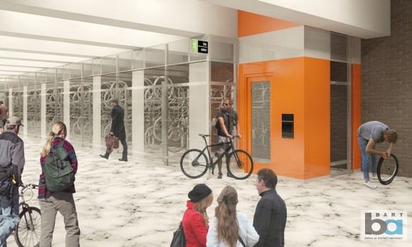Civic Center Bike Station Plan