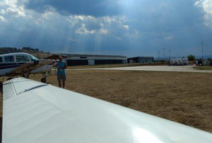 Landung in Ballenstedt