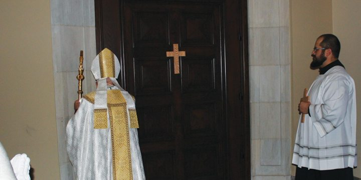 Closing the Holy Door and closing out the Year of Mercy