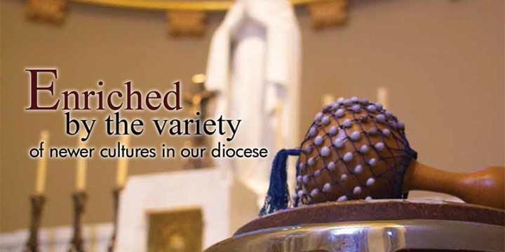 June 2019 Enriched by the variety of newer cultures in our diocese