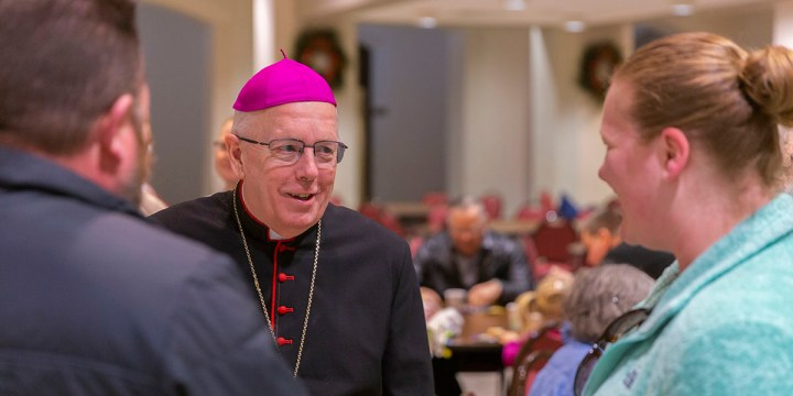 Give Praise to the Lord! Best wishes as our eighth bishop retires