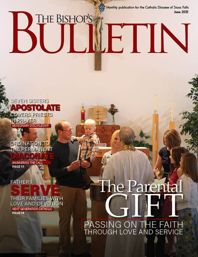 June 2021 The Parental Gift: Passing on the faith through love and service