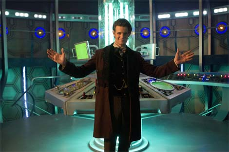 Who's in the (new look) TARDIS?