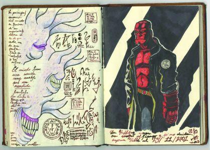 Museum-HellboyNoteBook