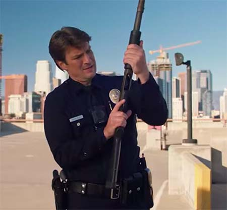 The Rookie (TV trailer with added Nathan Fillion).
