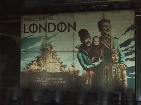 Mortal Engines (steampunk movie: second trailer).