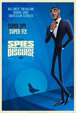Spies in Disguise (spy-fy movie trailer).