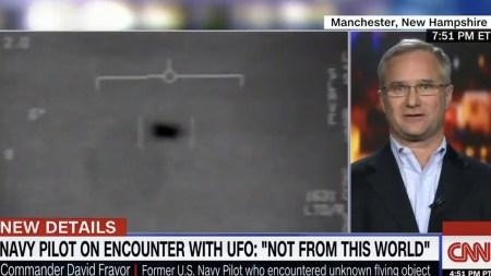 David Fravor interview (UFO video).