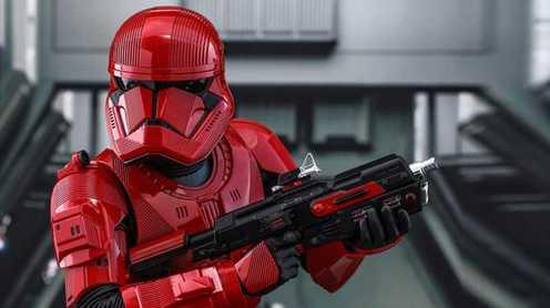 Star Wars Sith Trooper revealed.