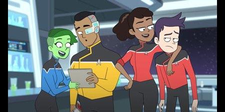 Star Trek Lower Decks: first series review (video).