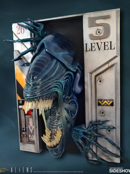 Alien Queen wall sculpture (merch news).