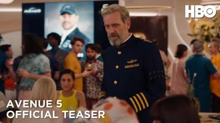 Avenue 5 (sci-fi comedy TV series: review).