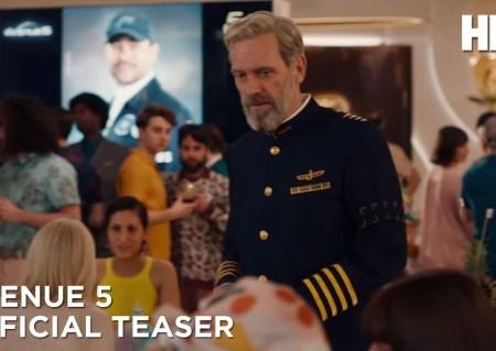 Avenue 5: new HBO scifi TV series (Love Boat in space?) (trailer).