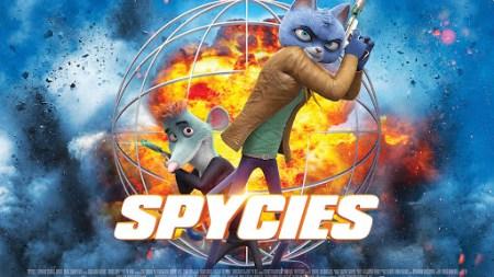 Spycies (animated spy-fy movie, review by Mark Kermode).