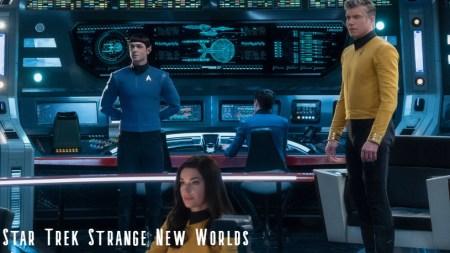 Star Trek Strange New Worlds begins production (news).