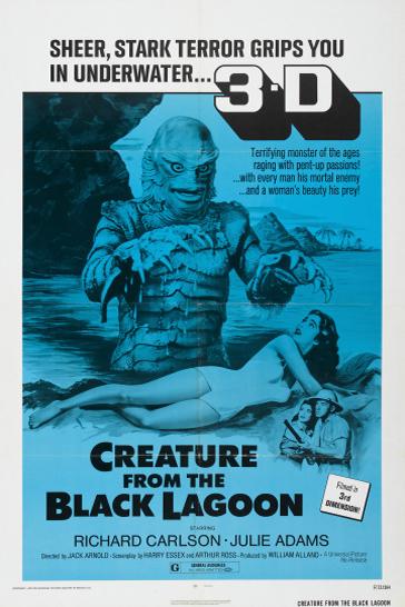 Creature from the Black Lagoon (1954): a horror film retrospective.