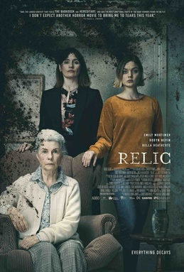 Relic: horror movie review by Mark Kermode (video).