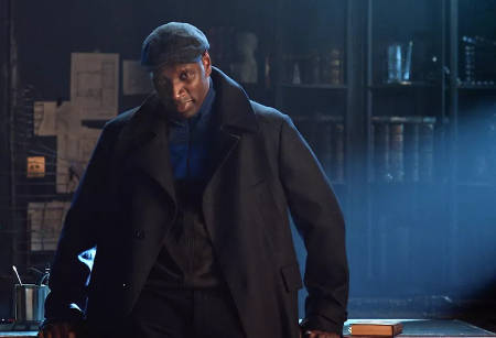 Lupin (Netflix cri-fi movie: trailer).