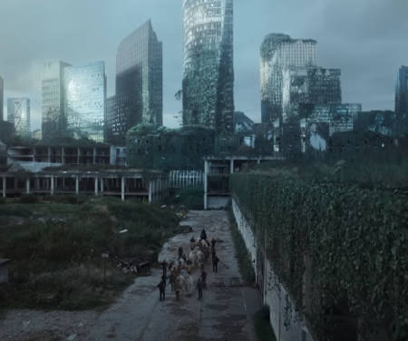 Tribes of Europa (new Netflix post-apocalyptic scifi series).
