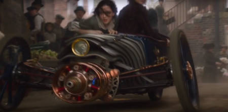 The Nevers: HBO steampunk TV series (think: Victorian X-Men) (trailer).