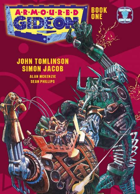 2000AD comic-book artist Simon Jacob interviewed (video).