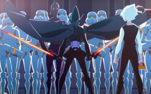 Star Wars Visions the anime series: official (trailer).
