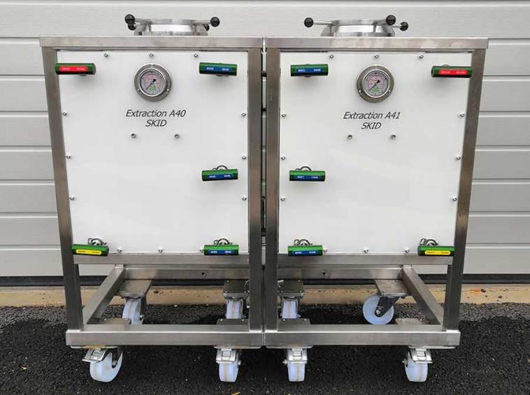 Supercritical equipment 2X5L 4 400bar - sfe process