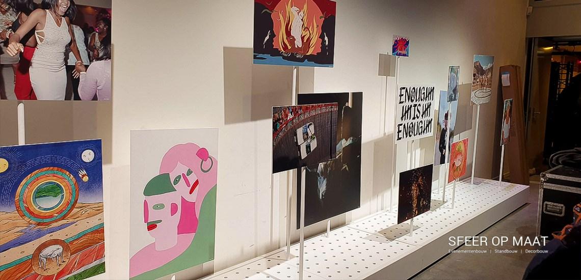 WeTransfer Art gallery