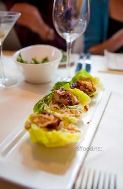 butterfish lettuce wraps at roy's