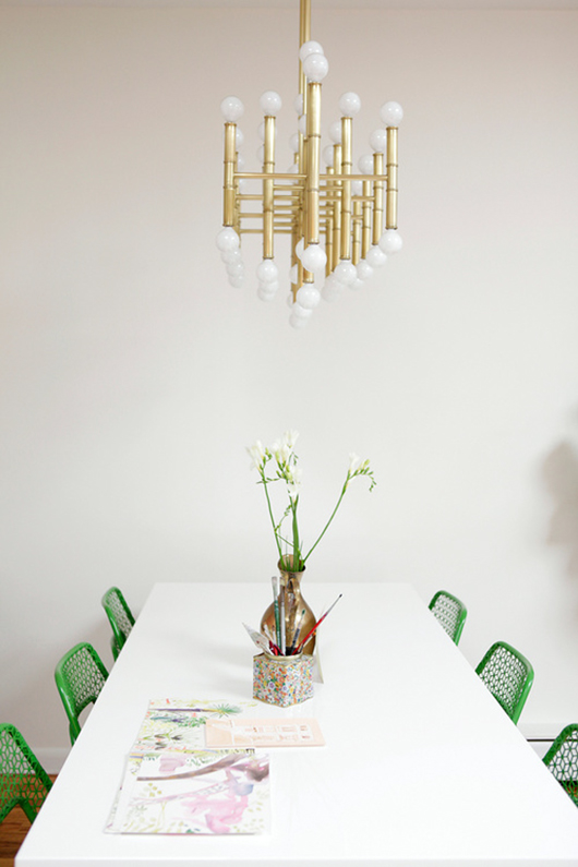 simply styled dining space / sfgirlbybay