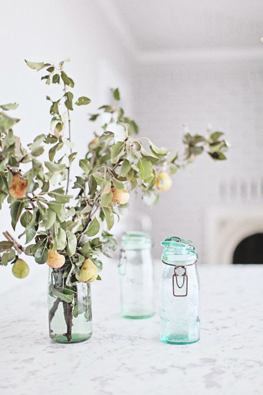 simply styled fruit branches / sfgirlbybay