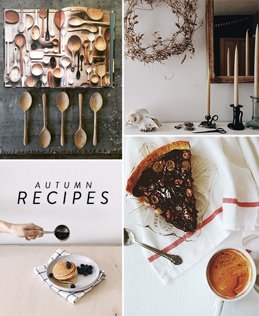 autumn recipes and images for new paper / sfgirlbybay