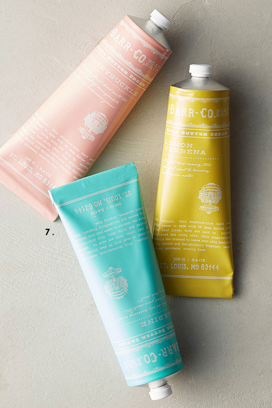 barr co hand cream with lovely packaging / sfgirlbybay