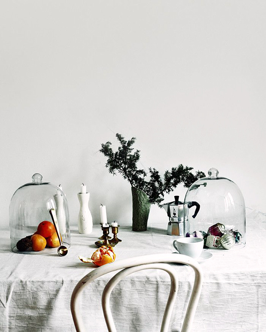 simple and chic thanksgiving table / sfgirlbybay