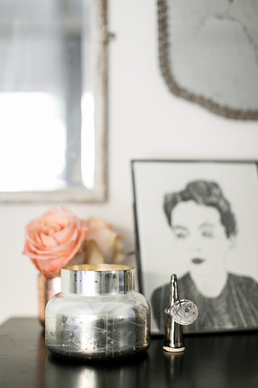anthropologie metallic candle and snuffer / sfgirlbybay