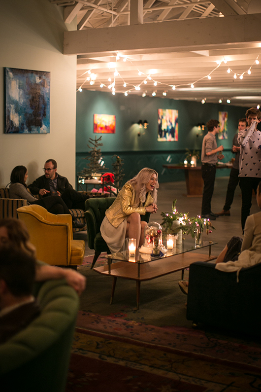 holiday gathering at the fig house in highland park / sfgirlbybay