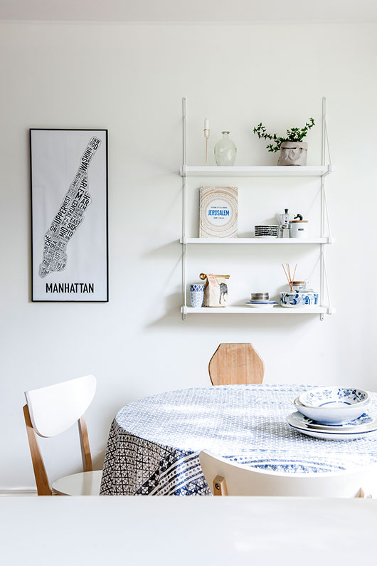 laura seppanen styled helsinki apartment dining space/ sfgirlbybay