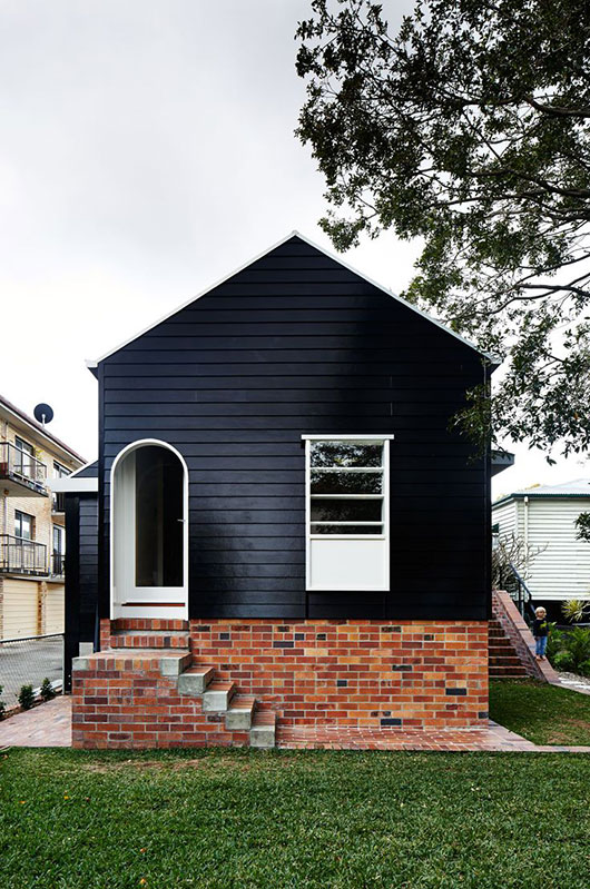 cottage painted black / sfgirlbybay