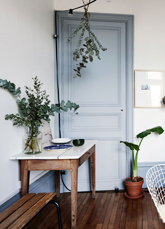 lovely blue door in The Kinfolk Home book / sfgirlbybay