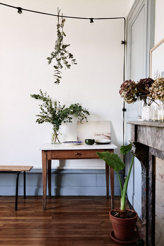 simple room featured in The Kinfolk Home: Interiors for Slow Living. / sfgirlbybay