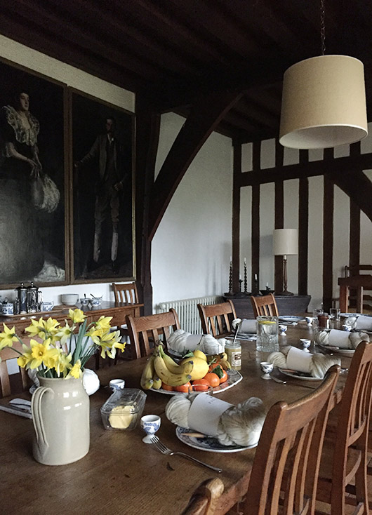 dining room at goddards house in surrey. / sfgirlbybay