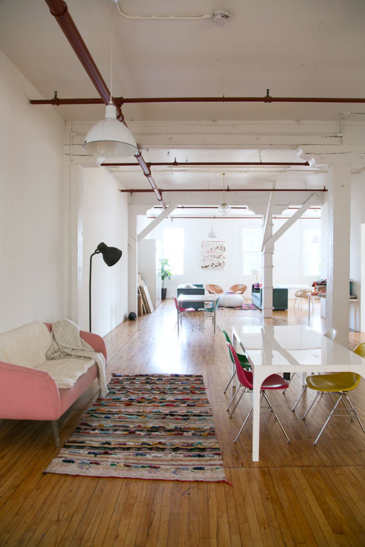 loft studio downtown los angeles arts district / sfgirlbybay