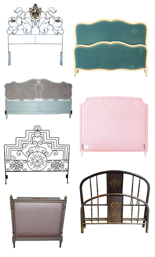 decorating with vintage headboards from @chairish / sfgirlbybay