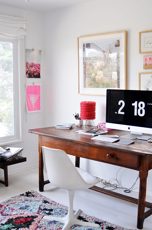 decor in los angeles home office / sfgirlbybay